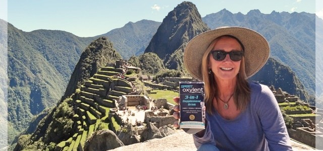 An Oxylent Day At Machu Picchu