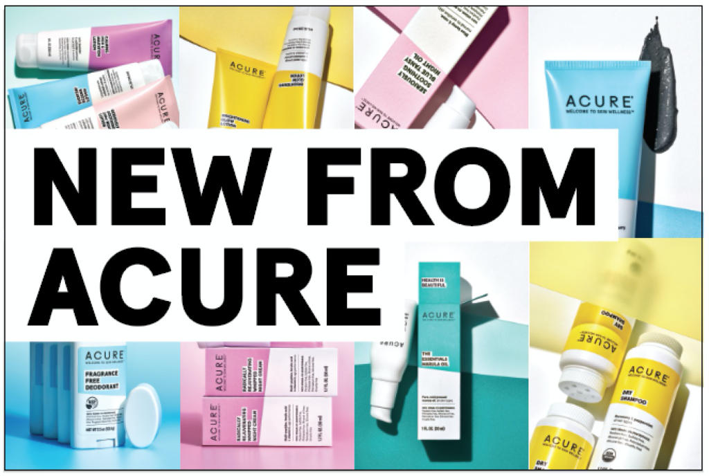 Acure New Products 2020