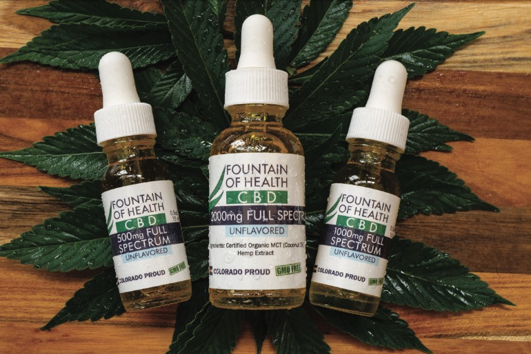 Fountain Of Health Trio of Hemp products